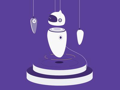 Bot Assembly ai technology robot chatbot digital illustration assembly bot