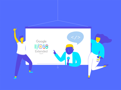 Google I/O material colors people android developers conference google