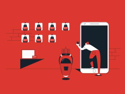 QA Tester suspects phone app bot bug tester qa
