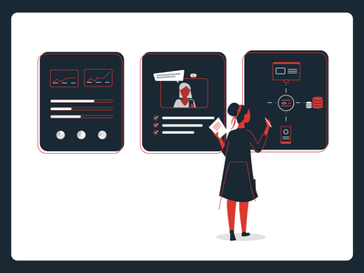 Research scientist woman ux digital agency design user experience researcher research