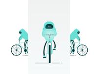 Biking Robot