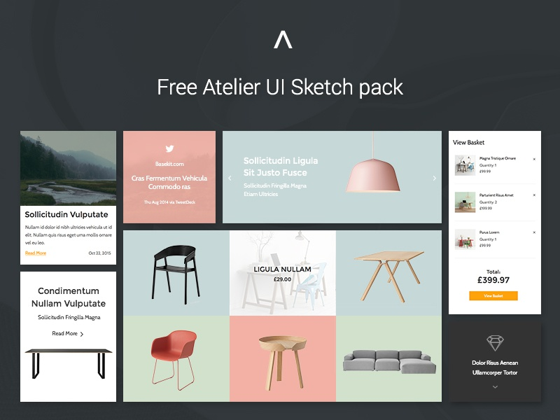 Free Atelier Sketch Template sketch template free sketch file free ui free sketch template basekit