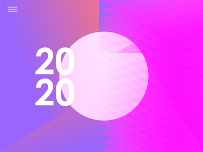 2020 is comin in folly abstract colour 2020 design illustration