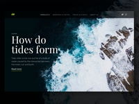 Learn UI folly digital dark black cards weather design ui