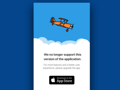 Sweating the Details ios not supported sky plane upgrade