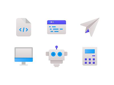 Technology Icons technology illustration icon