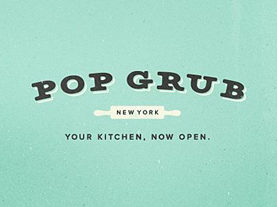 Pop grub logo idea