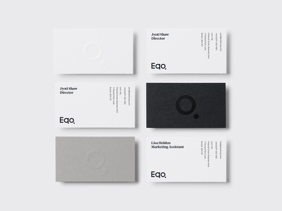 WIP Business Card branding visual identity print emboss clear foil logo brand identity business card