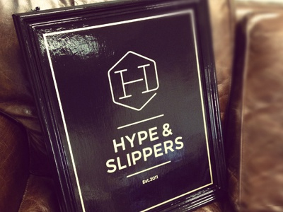Hype Pub Sign pub sign logo identity sign brand branding wood paint black gold gloss 2011