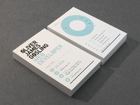 Oliver Gosling Business Cards