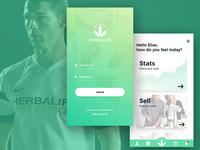 Herbalife App - Design