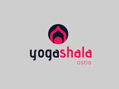 Yoga Shala - Logo proposal 1 vector illustrator logo yoga