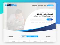 Addlance - Home Redesign