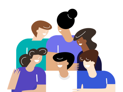 People storytelling product illustration characters character design brand design minimal illustrator digital illustration illustration