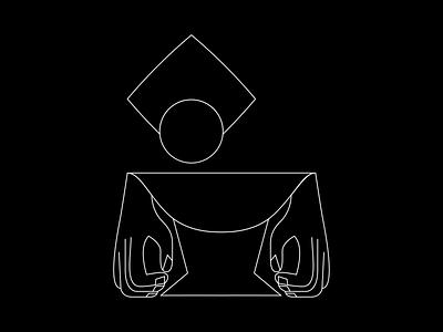 Grey Characters sciencefiction cinema abstract characterillustration graphic design storytelling illustrator bw villan minimal characterdesign digital illustration illustration
