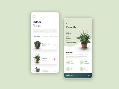 Planter App buyonline 2020 trending appdesign app shopping shoppingapp plantapp plant lettering vector design grid logo illustration ux ui branding
