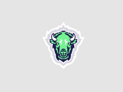 Bison pride american national bison sticker