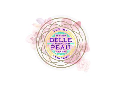 Belle Peau skincare Logo luxury branding logo beautiful skin