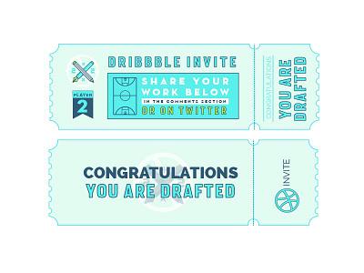 Dribbble Invite  draft play dribbble invite
