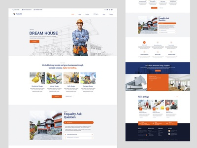 Construction Web Homepage