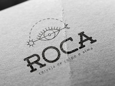 Roca - Creaft Brewery - Logo Design brand design logotype graphic design creativity craft beer beer branding visual identity logo design logo