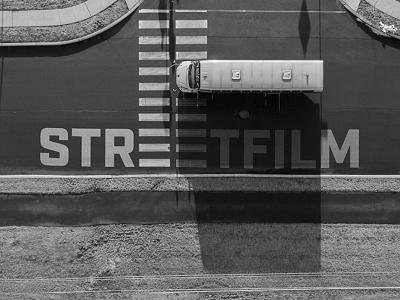 STREETFILM - Logo design crosswalk film photography urban logo design logotype visual identity logo design logo graphic design branding