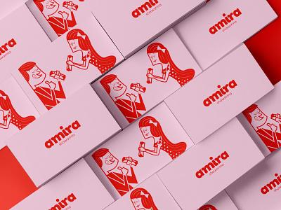 Amira Shawarma - Visual Identity food truck street food shawarma illustration visual identity logo design graphic design branding