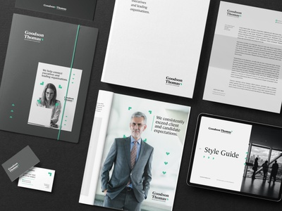Goodson Thomas - Rebranding accounting business research business business office corporative corporate design design logotype logo visual identity logo design graphic design branding