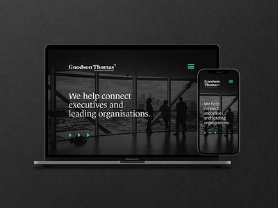 Goodson Thomas - Rebranding accounting business research office business corporate design corporate design logotype logo visual identity logo design graphic design branding
