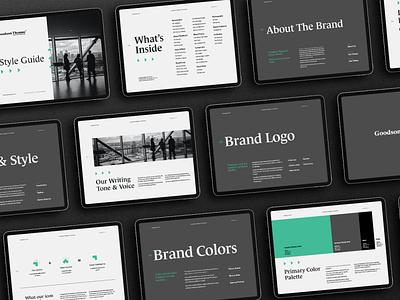 Goodson Thomas - Rebranding Project office accounting business design logotype logo visual identity logo design graphic design branding