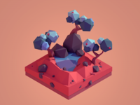 Lowpoly Oasis