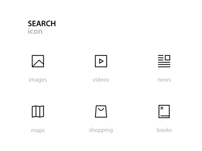 search icon px line icon