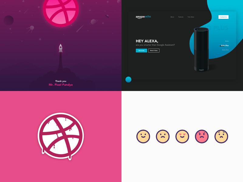 Top Shots from 2018 emoticon user interface illustration header concept app ui sketch