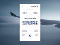 Mobile Boarding Pass Concept
