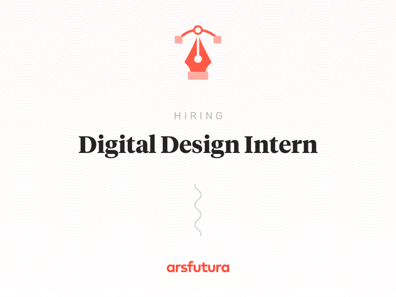 Digital Design Intern wanted illustrator job hiring illustration design