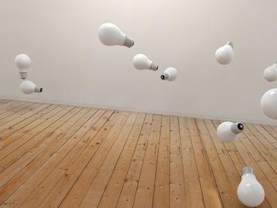 Storm of bulbs