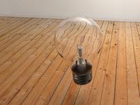 Floating bulb