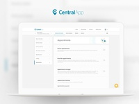 CentralApp - Product Pages