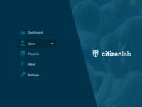 CitizenLab Brand to App