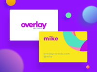 Record Label Business Card