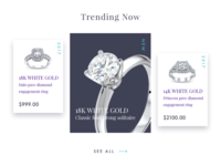 Jewelry Site Trending Section