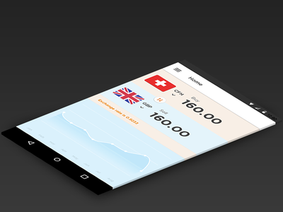 Android Currency Mobile app material design interaction user interface ux ui mobile android currency concept app