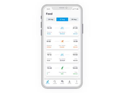 Bike Ride x cycling ux ui shop bike mobile iphone ios interface concept