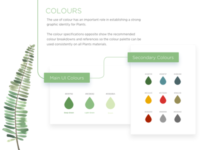 Plant Style Guide ui starter sketch site guidelines free file design