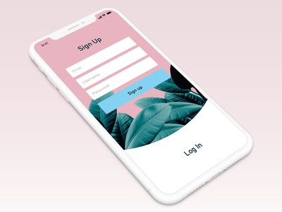Sign Up - Day 001 ux iphone daily ui dailychallenge daily ui 001 001 daily design interface concept ios mobile ui