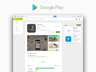 Android Apps on Google Play freeway logo design interface ui ux mobile google googleplay