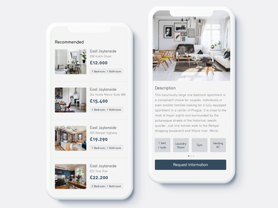 Find a perfect home mobile design mobile typography vector illustration free shop iphone app concept ui ux
