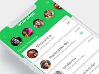 Whatsapp Re-Concept