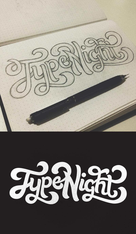Typenight sketch