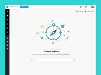 Content Explorer - Blank Space